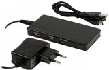 USB    HUB    2.0    4fach                                inkl.Netzgerät    USB1.1    com