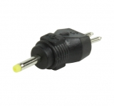 DC    Adapter    2,4/0,7/9,5mm    Adapterstifte    gelb