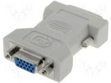 DVI    Adapter    DVI    Stecker        ->    VGA    Kupplung    15pol.
