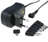 Steckernetzgerät    3-12V/DC1000mA    stabilisiert