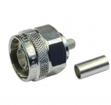 N-Stecker    crimpbar    RG58        50    Ohm