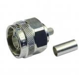N-Stecker    crimpbar    RG58        50    Ohm