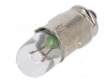 BA7s   6V  100mA    Röhrenform    DM=7mm    L=20mm