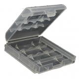 Batterie/Akku                                                Aufbewahrungsbox    f.    4xAAA