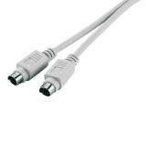 PS2    Kabel    Stecker    -                        Stecker    5m
