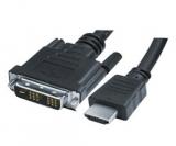 DVI    auf    HDMI    Kabel    5,0m        Stecker    -    Stecker    18+1