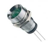 Led    3mm    grün    mit                                    Innenreflektor