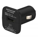 USB    Ladegerät    KFZ    2,4A            1xUSB    Buchse    Monacor