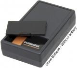 Gehäuse    G01B    101x60x26mm    schwarz    mit    Batteriefach