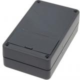 Gehäuse    G02B    123x72x39mm    schwarz    mit    Batteriefach