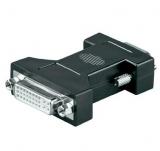 DVI    Adapter    DVI    Buchse    ->VGA    Stecker    15pol.