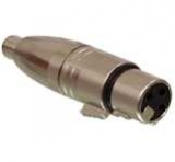 XLR    Adapter    XLR                                        Kuppl.->Cinchbuchse    Low    C