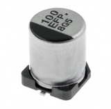 100uF/25V    105°    7,7x6,3mm    SMD        Elko