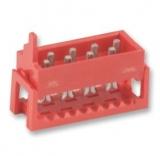 Pfosten-VERB.    Stecker    14    pol.    RM    1,27mm