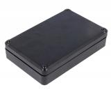 Gehäuse        120x80x27mm    ABS    schwarz    Halbschalen