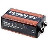 Batterie    9V    Lithium                        1200mAh    Ultralife