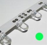 Ledstreifen    12V/    40mA                18Leds    flexibel    30cm    grün