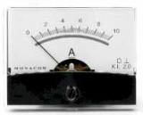 Einbauinstrument    10A                    60,3x46,3    mm