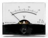 Einbauinstrument    15V                    60,3x46,3    mm