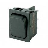 Wipptaster        2pol.Tast    EIN250V/16A    30x22mm    schwarz